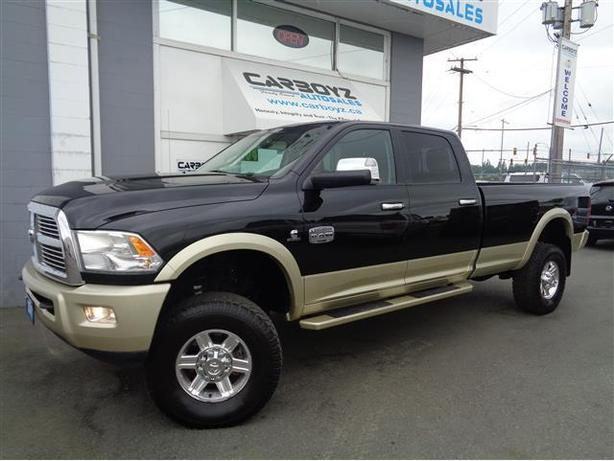 2011 dodge ram 2500 laramie longhorn diesel lifted crew long box outside victoria victoria. Black Bedroom Furniture Sets. Home Design Ideas