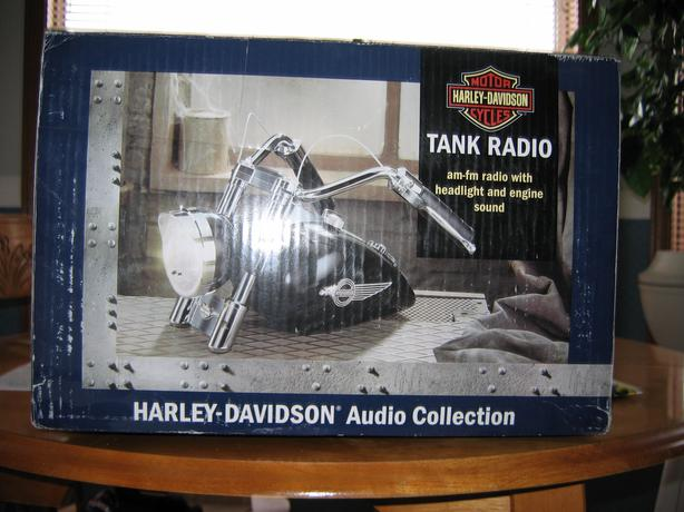 Harley Davidson tank radio  collectors item