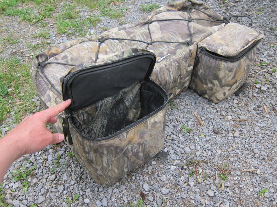 Atv Camo Back Rack Bag West Carleton Gatineau