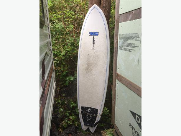 Surfboard for sale tofino ucluelet for Fish surfboard for sale
