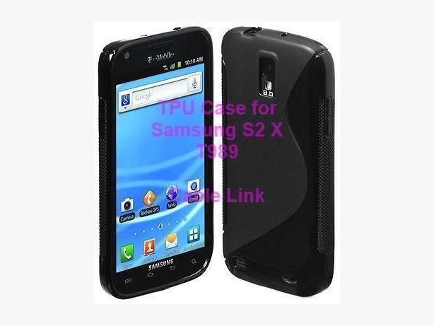 S Line TPU Case Cover for Samsung Galaxy S2 X T989