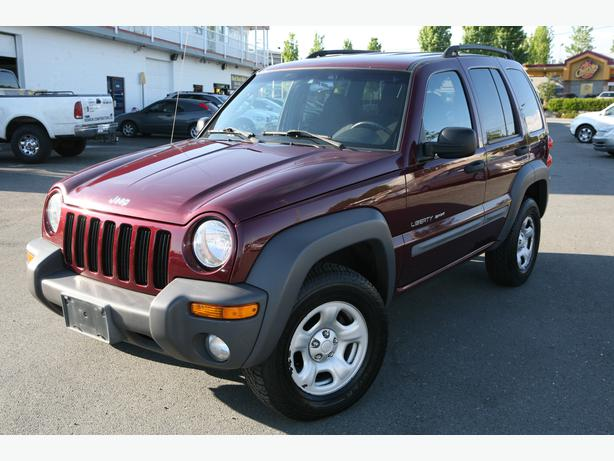 2002 jeep liberty sport local one owner no accidents. Black Bedroom Furniture Sets. Home Design Ideas