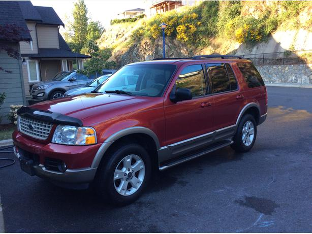 2003 ford explorer eddie bauer edition outside nanaimo nanaimo. Black Bedroom Furniture Sets. Home Design Ideas
