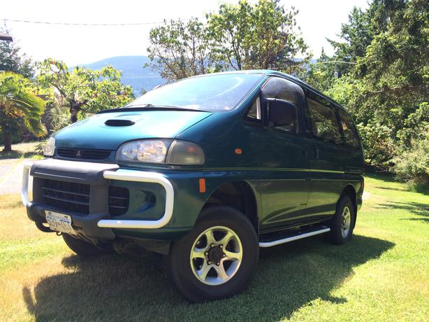 94 mitsubishi delica 4x4 diesel l400 exceed nanoose bay nanaimo. Black Bedroom Furniture Sets. Home Design Ideas