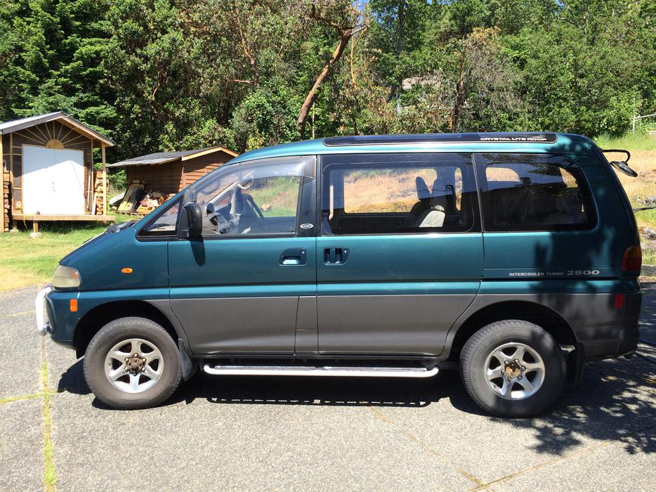 94 mitsubishi delica 4x4 diesel l400 exceed nanoose bay parksville qualicum beach mobile. Black Bedroom Furniture Sets. Home Design Ideas
