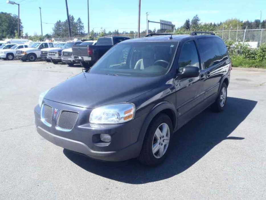 2008 Pontiac Montana Sv6 Outside Comox Valley Campbell