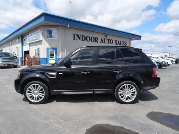 Auto Sale Winnipeg: 2011 Land Rover Range Rover Sport HSE Indoor Auto Sales