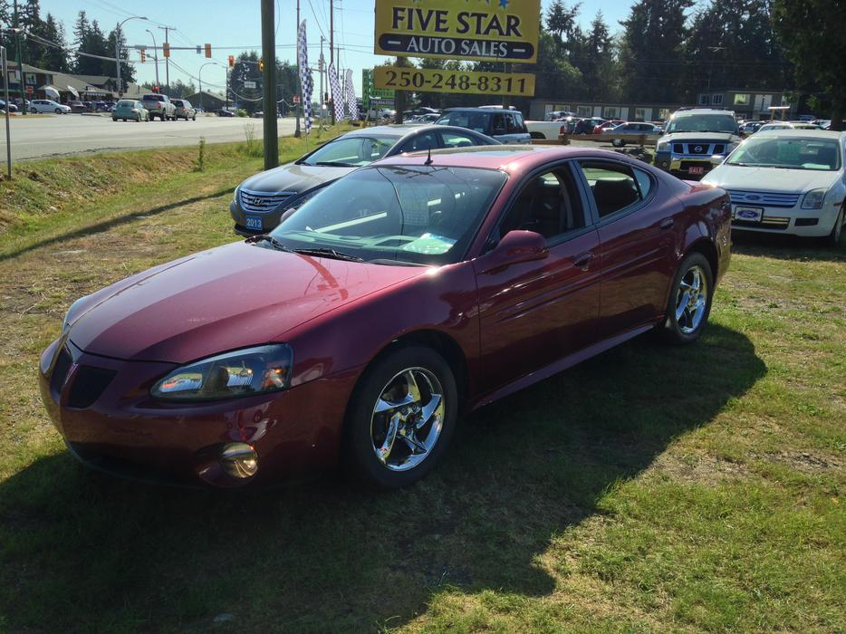 2004 pontiac grand prix gtp 3 8l supercharged 260hp only 27 563kms outside comox valley. Black Bedroom Furniture Sets. Home Design Ideas