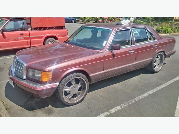 1985 mercedes benz 300sd central saanich victoria for 1985 mercedes benz 300sd