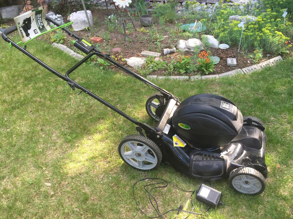 Solaris Battery Powered Lawn Mower Central Ottawa Inside