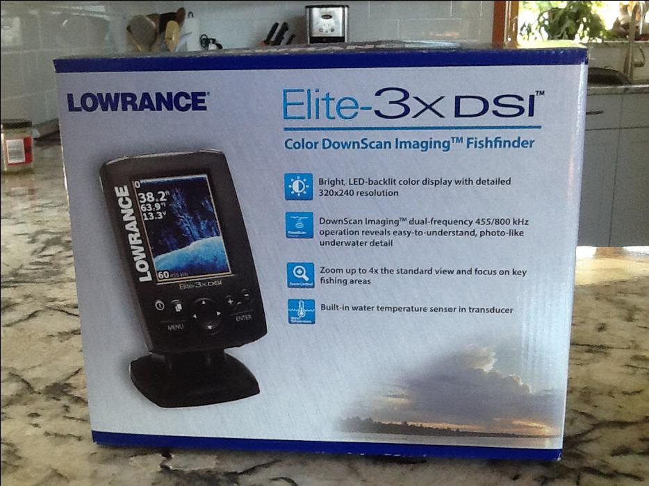 Lowrance elite 3xdsi fishfinder qualicum nanaimo for Used fish finders