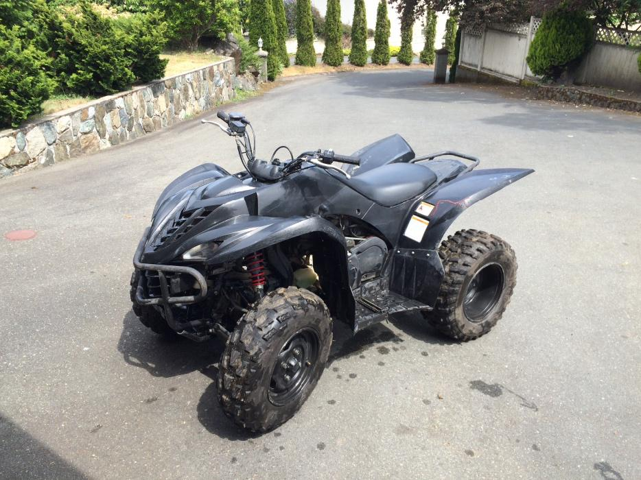 2008 yamaha wolverine 450 west shore langford colwood for Yamaha wolverine 450 for sale