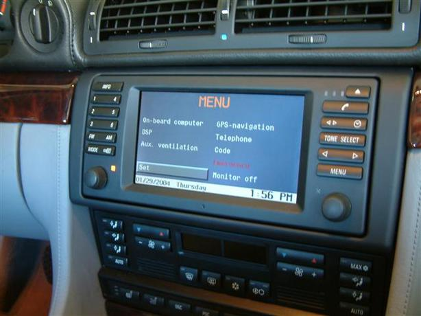 2001 2007 bmw x5 gps nav entertainment system head unit. Black Bedroom Furniture Sets. Home Design Ideas