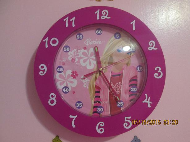 "Barbie 12"" Wall Clock"