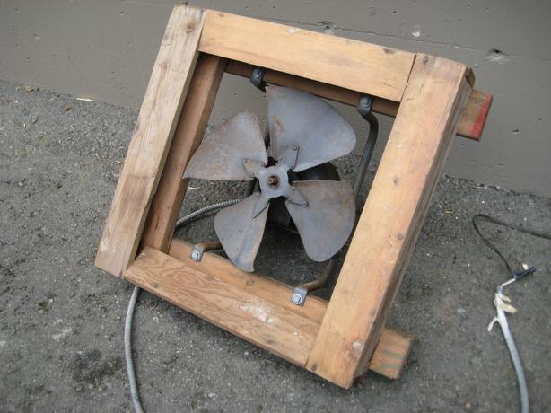 Barn Exhaust Fans : Barn exhaust fan central nanaimo