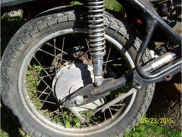 Honda CB360 CJ360 CB350 CB400F CL360 rear wheel 18 inch wheel rim