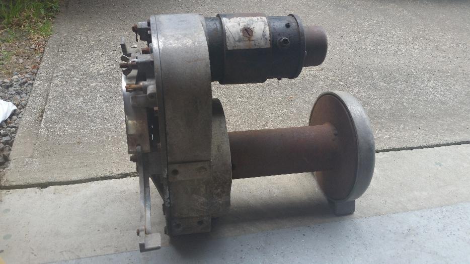 old warn winch parts