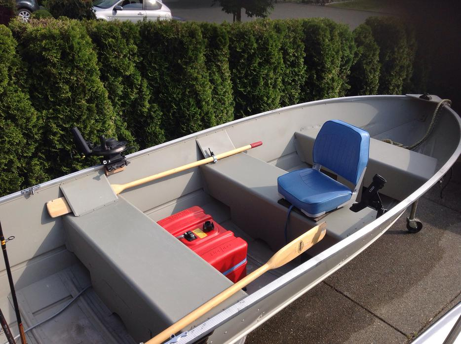 16 39 Aluminum Boat Motor And Trailer Central Nanaimo: aluminum boat and motor packages
