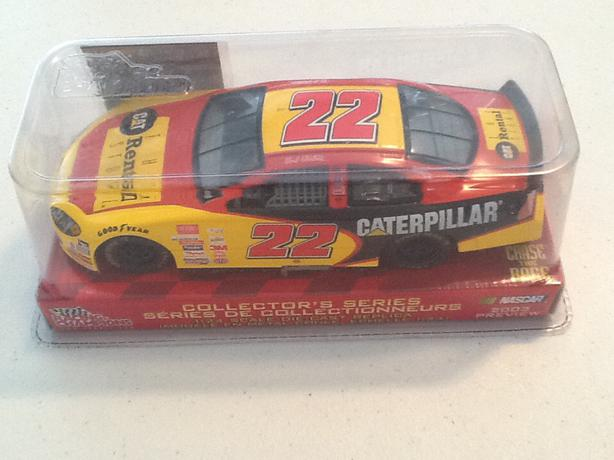 Racing Champions 1/24 Scale Ward Burton Diecast #22 Caterpillar