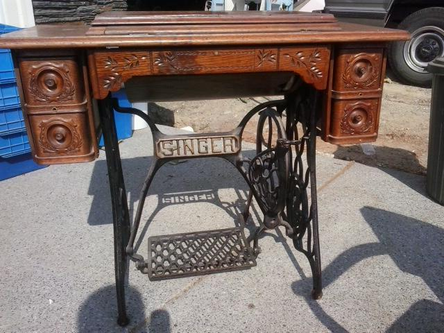 antique treadle sewing machine for sale