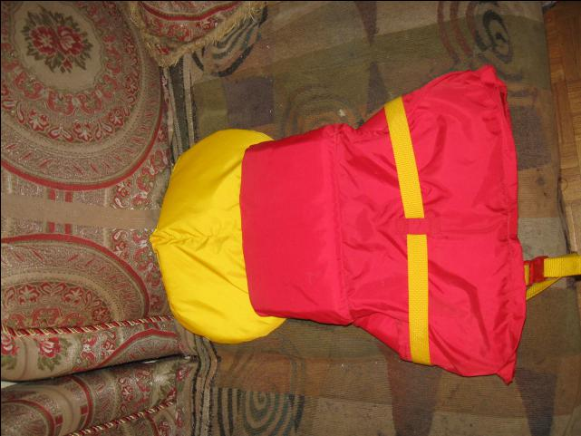 Buoy O Boy Life Jacket Childrens Size 18 Kg To 41 Kg Yellow Red Central Ottawa Inside Greenbelt