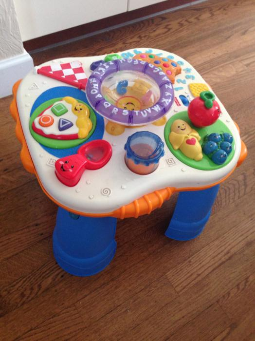 Fisher price activity table victoria city victoria mobile - Table activite fisher price ...