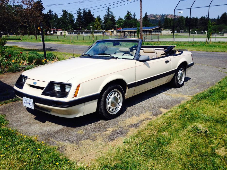 86 Mustang Lx Convertible Saanich Victoria Mobile