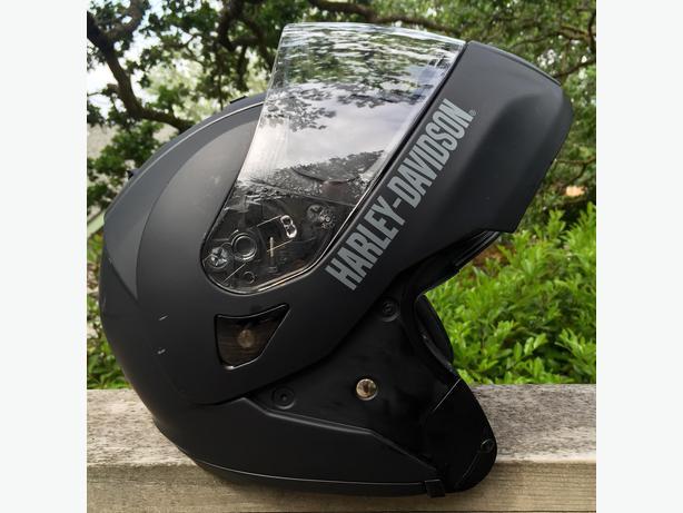 harley davidson modular helmet with retractable sun shield - mens
