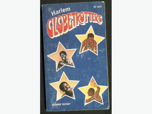 Harlem Globetrotters 1970s Book