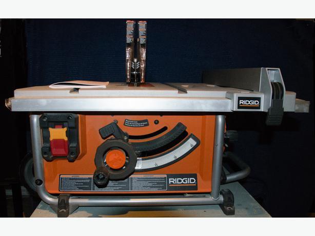 Ridgid jobsite table saw r4516 gloucester ottawa ridgid jobsite table saw r4516 greentooth Choice Image