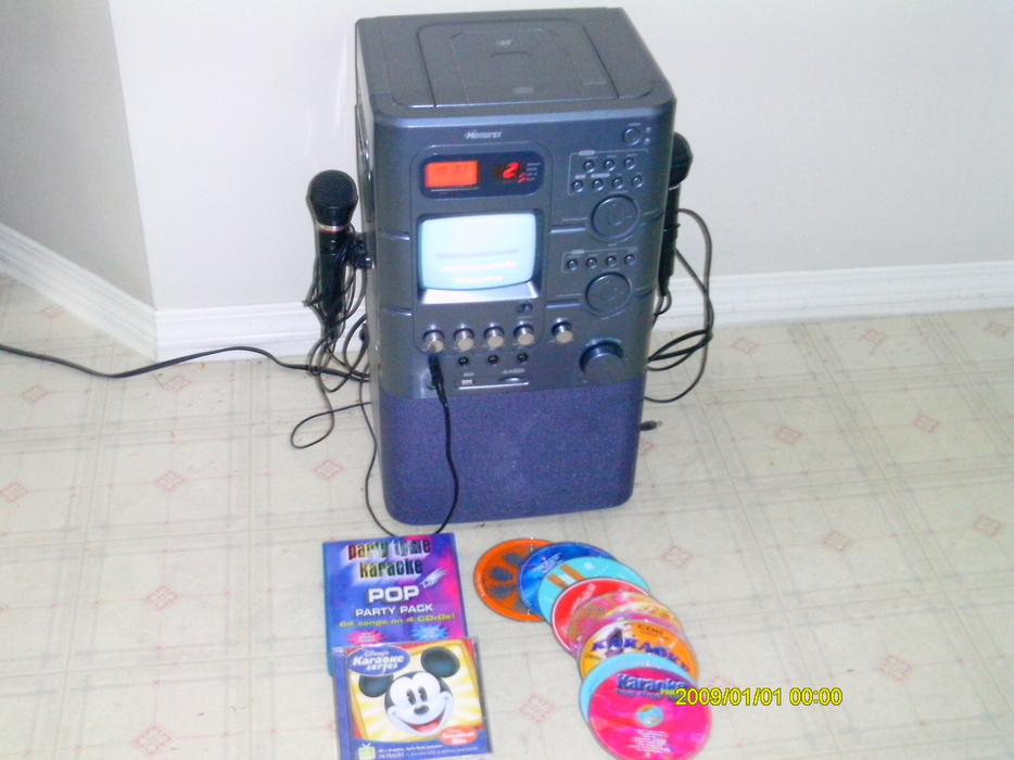 mobile karaoke machine