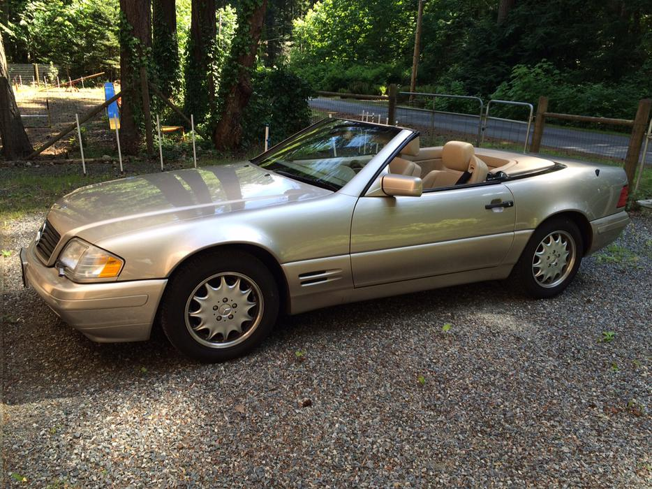 1998 mercedes benz sl 500 south nanaimo nanaimo mobile for 1998 mercedes benz sl500