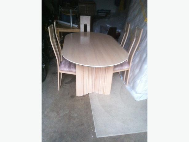 Dining room table and 6 chairs victoria city victoria for Dining room tables victoria