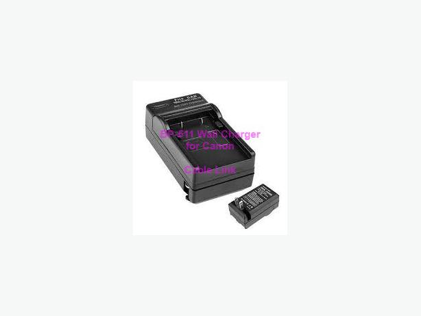 Wall Charger for Canon BP508 BP511 BP522 BP514 BP535