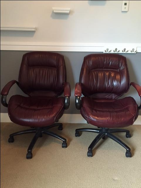 Lane Executive Leather Office Chair West Shore Langford