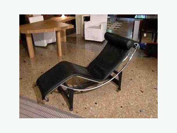 Le corbusier lc4 style lounge chair victoria city victoria - Chaise longue montreal ...