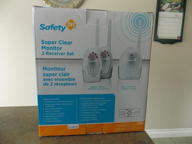 safety first baby monitor set duncan cowichan. Black Bedroom Furniture Sets. Home Design Ideas