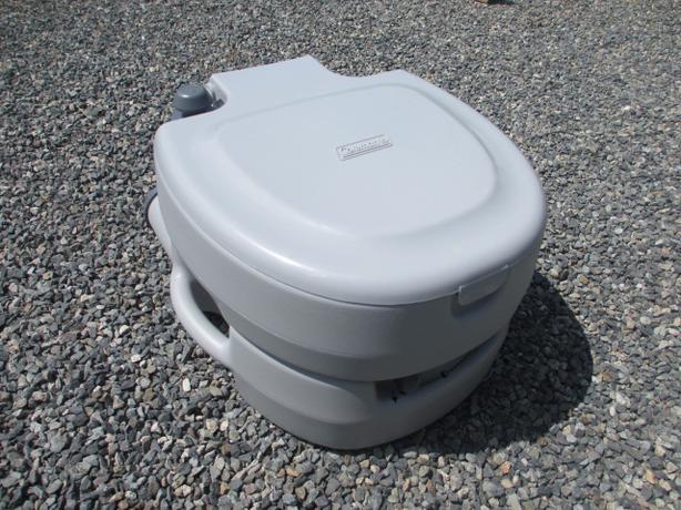 Unused Coleman Portable Flush Toilet Large Duncan Cowichan