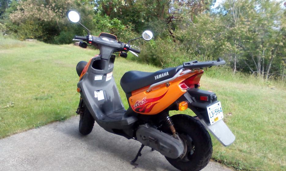 Yamaha scooter for sale north nanaimo nanaimo mobile for Yamaha bws 100 for sale