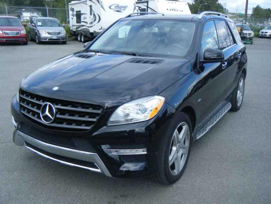 2012 mercedes benz ml350 outside nanaimo parksville for Mercedes benz nanaimo