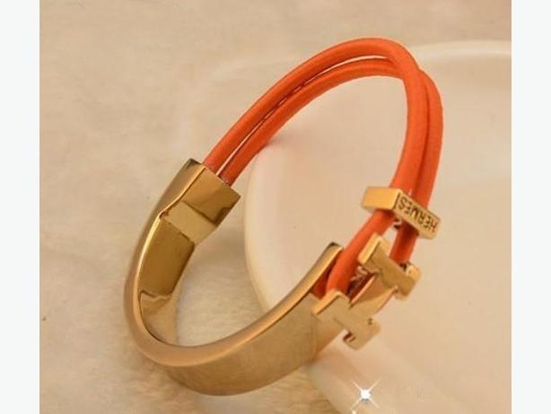 New Hermes Cuff Bracelet with Stretchable Band
