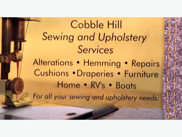Cobble Hill Sewing and Upholstery Services