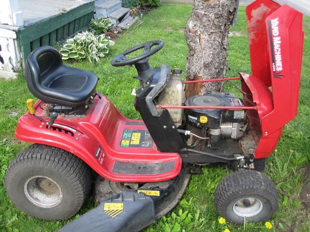Yard Machines Garden Tractor : Yard machines lawn tractor osgoode ottawa
