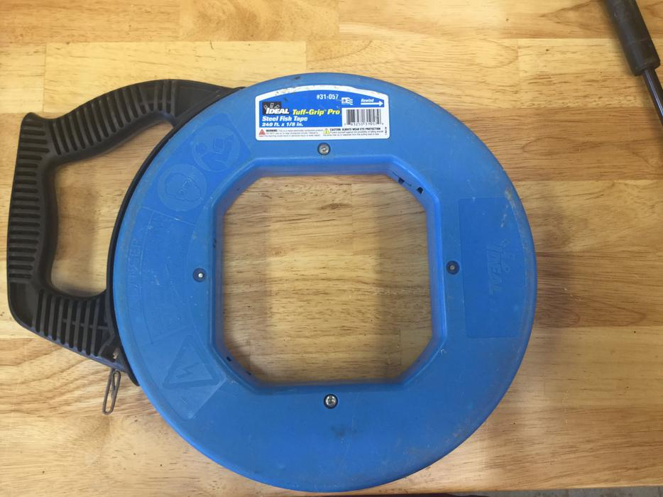 Ideal fish tape comox comox valley for Ideal fish tape