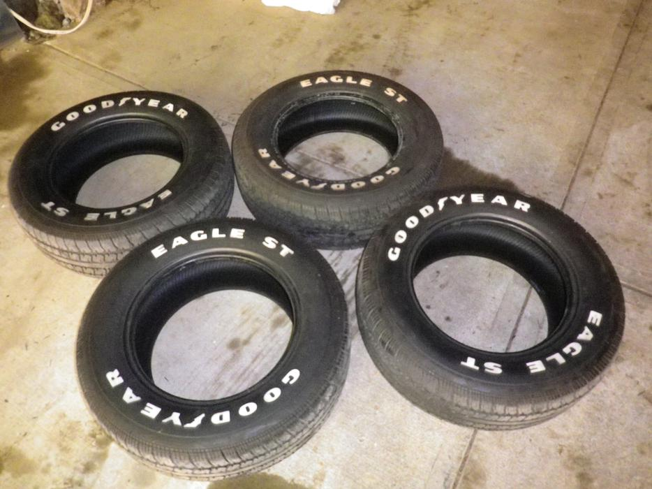 Tires North Vancouver >> FOUR WHITE LETTER GOODYEAR EAGLE GT TIRES Saanich, Victoria