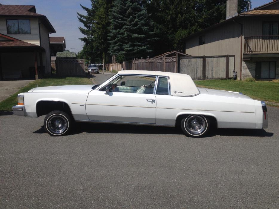 81 Cadillac Coupe Deville Lowrider