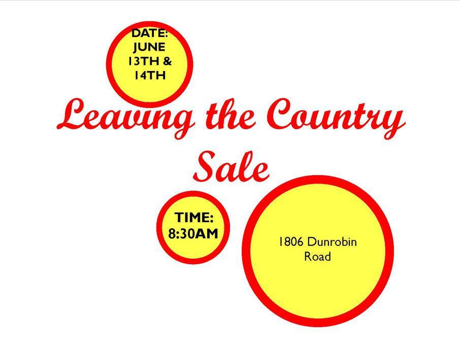 MOVING OUT OF THE COUNTRY SALE GARAGE SALE Kanata  : 46970643934 from www.usedottawa.com size 906 x 700 jpeg 51kB