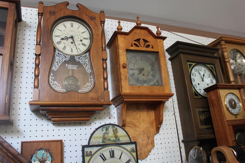 Wall Clocks Outside Victoria Victoria