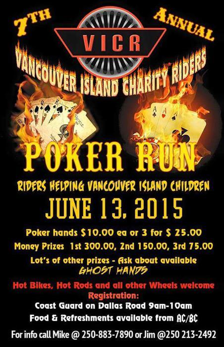 Poker runs vancouver island