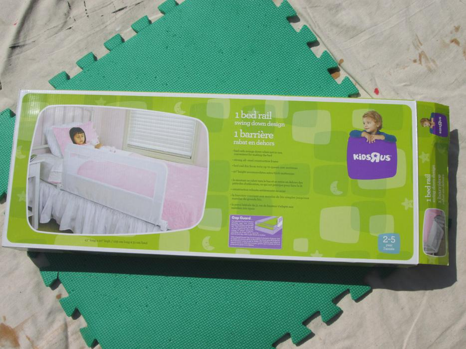Babies R Us Swing Down Bed Rail New In Box Ladysmith